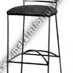 Бар-стол ковано желязо. Ковано желязо стол.