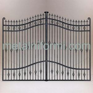 Портали,портални врати от ковано желязо.