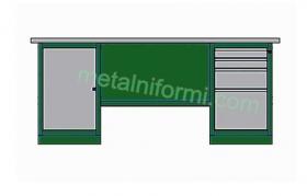 Метално бюро -А10