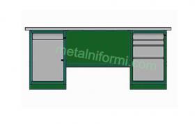 Метално бюро -А11
