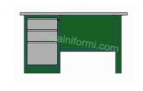 Метално бюро -А4