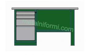 Метално бюро -А5
