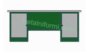 Метални бюра - Метално бюро-А8