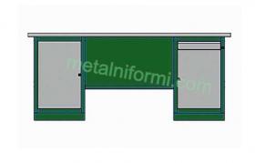 Метално бюро -А9