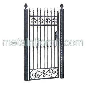 Ковано желязо портална врата.