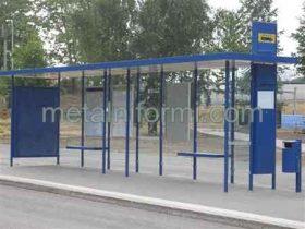 Автобусни спирки, Производство и монтаж