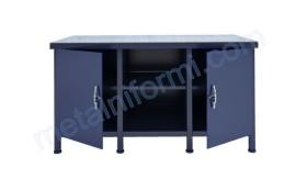 Метална монтажна маса за автосервизи и работилници.