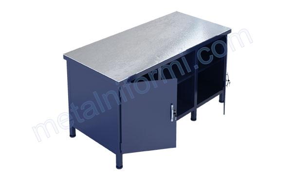 Работна маса от метал, модел 1500-4В.