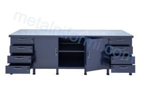 Шлосерски метални маси, маса модел 2500-10А.