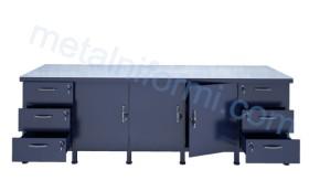 Шлосерска метална маса, работна, модел 2500-9А.